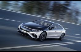 Mercedes-Benz EQS, 2021, front