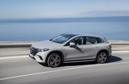 Mercedes-Benz Vision EQS concept, 2019, side
