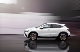 Mercedes-Benz EQA, 2021, side