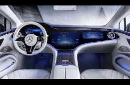 Mercedes-Benz EQS, 2021, interior
