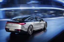 Mercedes-Benz EQS, 2021, rear