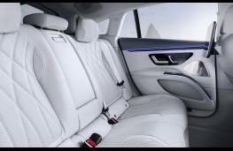 Mercedes-Benz EQS, 2021, rear seats