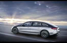 Mercedes-Benz EQS, 2021, side