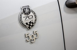 Abarth 595 esseesse, 2019, anniversary badge