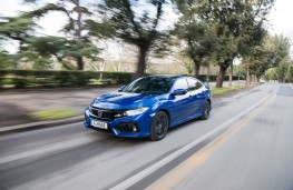 Honda Civic i-DTEC, 2018, front, action