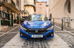 Honda Civic i-DTEC, 2018, nose