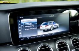 Mercedes E-Class Estate, 2016, display screen