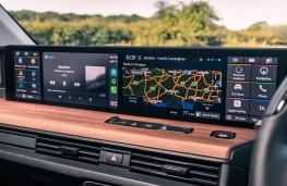Honda e, 2020, display screen