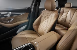 Mercedes-Benz E-Class 2016, seats