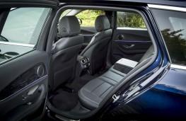 Mercedes E-Class Estate, 2016, rear seats