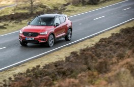 Volvo XC40, side, action