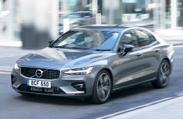Volvo S60, front, action