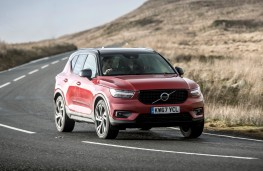 Volvo XC40, front, action
