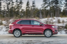 Ford Edge Vignale, 2019, side