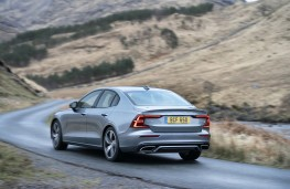 Volvo S60, rear, action