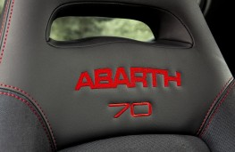 Abarth 595 esseesse, 2019, seat embroidery