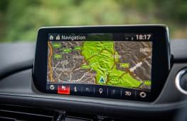 Mazda6 Tourer, 2018, display screen