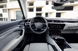 Audi e-tron, 2019, dashboard
