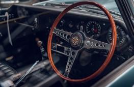 Jaguar E-Type, 2020, dashboard
