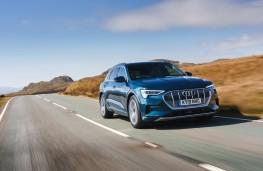 Audi e-tron, 2019, front