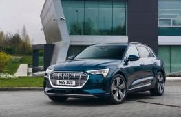 Audi e-tron, front