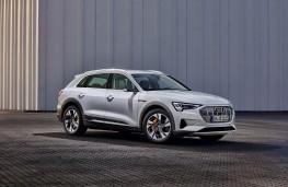 Audi e-tron 50 quattro, 2020, front