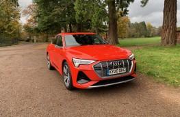 Audi e-tron, 2020, front