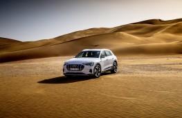 Audi e-tron, 2019, front, desert