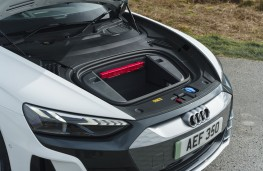 Audi e-tron GT, 2021, front boot, frunk