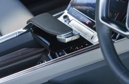 Audi e-tron, 2019, gear lever