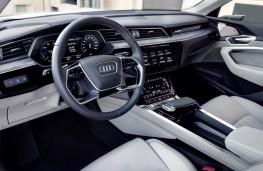 Audi e-tron, 2019, interior