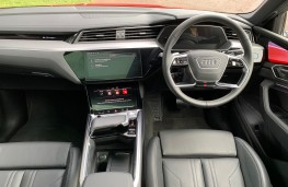 Audi e-tron, 2020, interior