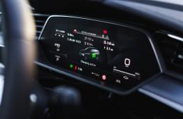Audi e-tron, instrument panel