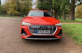 Audi e-tron, 2020, nose