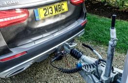 Mercedes-Benz E350 d 4Matic All-Terrain, 2017, tow bar