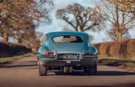 Jaguar E-Type, 2020, tail