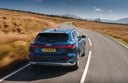 Audi e-tron, 2019, rear