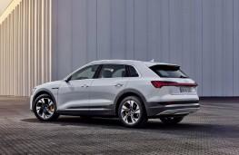 Audi e-tron 50 quattro, 2020, rear