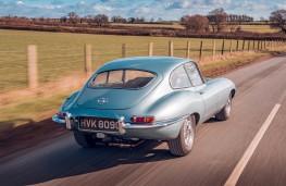 Jaguar E-Type, 2020, rear