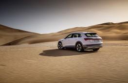 Audi e-tron, 2019, rear, desert
