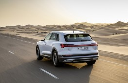Audi e-tron, 2019, rear, action