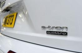 Audi Q7 e-tron, badge