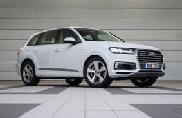 Audi Q7 e-tron, front