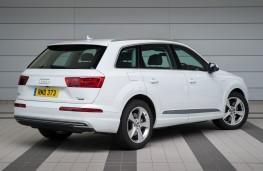 Audi Q7 e-tron, rear