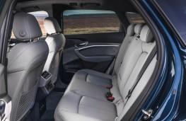 Audi e-tron, 2019, rear seats