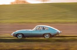 Jaguar E-Type, 2020, side