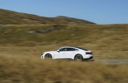 Audi e-tron GT, 2021, side
