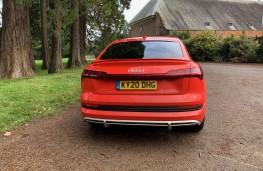Audi e-tron, 2020, tail