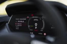 Audi e-tron GT, 2021, trip computer