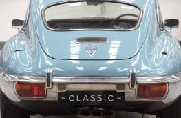 Jaguar Land Rover Classic Works, Jaguar E-Type, rear